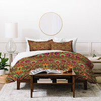 Aimee St Hill Ogee Orange Duvet Cover
