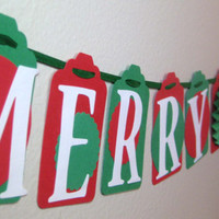 Christmas Banner Holiday Decorations