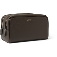 Smythson - Textured-Leather Wash Bag | MR PORTER
