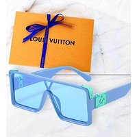 Louis Vuitton LV Square millionaire fashion piece sunglasses sunglasses fresh color