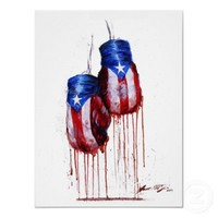 Spirit of Puerto Rican Boxing Posters from Zazzle.com