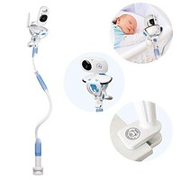 Universal Baby Camera Mount, Infant Video Monitor Holder and Shelf - Flexible Camera Stand for Nursery Compatible with Most Baby Monitors