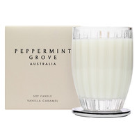 Peppermint Grove Vanilla Caramel Large Candle 350g - Candles & Home Fragrance