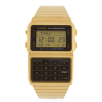 Casio Data Bank Watch Gold One
