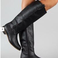The Madison Riding Boots in Black
