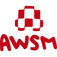 Awsm Logo Sticker Red One Size For Men 21140830001