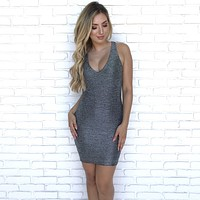 Linked Up Bodycon Dress