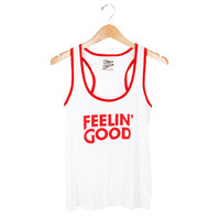 Feelin' Good Racerback Tank
