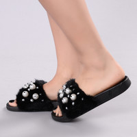 Audrey Sliders - Black