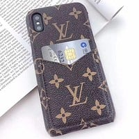 Louis Vuitton LV Phone Cover Case For 7 7plus 8 8plus iPhone X