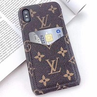 Louis Vuitton LV Phone Cover Case For 7 7plus 8 8plus iPhone X XS XS max XR11 Pro Max 12 mini 12 Pro Max