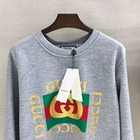 NOV9O2 GUCCI Fashion Casual Long Sleeve Sweater Pullover Sweatshirt