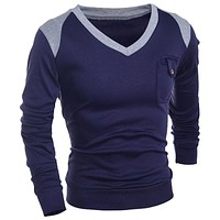 Men Sweater Clothing Men's Casual Knitting Men Pullover Coats Outerwear