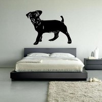 Wall Vinyl Decal Sticker Bedroom Kids Decal Kids Baby Decal Dog Pooch Hound  z388