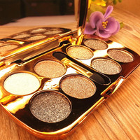 Bling Bling Professional Stylish 8 Colors Eye Shadow with Brush