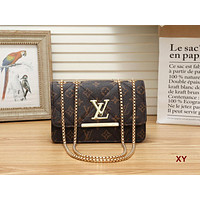 Year-End Promotion 3 Pcs Of Bags Combination (LV Bag ,YSL Mid Bag ,YSL Wallet) Colorful