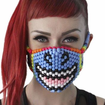 Smiling Unicorn Kandi Mask
