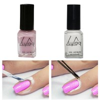 Nail Art  6ml Nail Polish Glue Peel Off Tape Latex Tape Finger Skin Protected Liquid Palisade Nail Polish Recommend