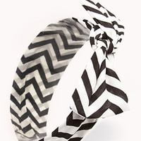 Striking Chevron Headwrap