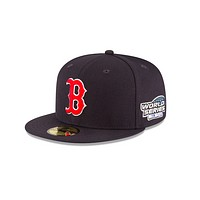 "New Era ""Boston Red Sox"" 2004 World Series Grey Bottom 59Fifty Fitted Hat"