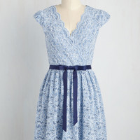 That's My Gala Dress in Sky | Mod Retro Vintage Dresses | ModCloth.com