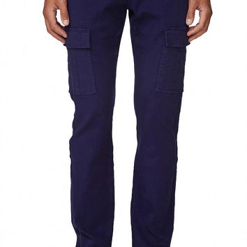 Seven-Pocket Twill Pants