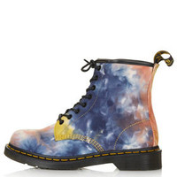 DM Tye Dye Lace Up Boots