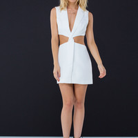 Suit Up Cut-Out Dress