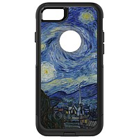 DistinctInk™ OtterBox Commuter Series Case for Apple iPhone or Samsung Galaxy - Van Gogh Starry Night