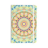 "Iris Lehnhardt ""Flourish"" Circle Yellow Everything Notebook"