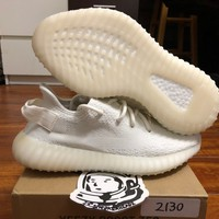 Come With Box Adidas yeezy boost 350 V2 Cream White sz 6.5 CP9366 DS 100% authentic