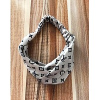 Louis Vuitton LV Fashion New Monogram Print Women Men Headband