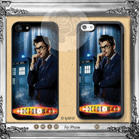 Doctor Who iPhone 5s case, iPhone 5C Case iPhone 5 case, iPhone 4 Case David Tennant iPhone case Phone case ifg-000185