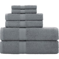 Mainstays Basic 6-Piece Towel Set - Walmart.com