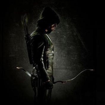 Green Arrow poster Metal Sign Wall Art 8in x 12in