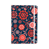 "Nicole Ketchum ""Cherry Floral Midnight"" Everything Notebook"