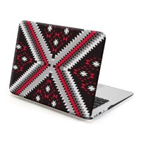MacBook Air 13 Case, GMYLE Hard Case Print Frosted for MacBook Air 13 inch (Model: A1369 and A1466) - Ethnic Pattern Rubber Coated Hard Shell Case Cover