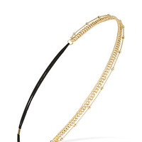 Posh Layered Chain Headband