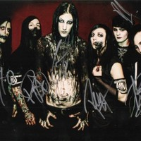 Motionless in White band reprint signed photo #2 RP