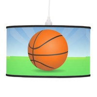 Personalized Kid's Sports Basketball Sunny Day Lamp