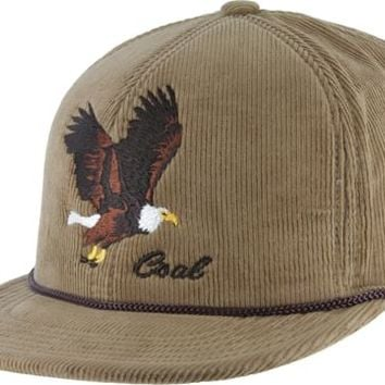 Coal The Wilderness Snap Back Hat - khaki (eagle) - Free Shipping
