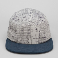 Urban Outfitters - Rosin NY Maps 5-Panel Hat
