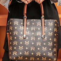 New fashion high-end leather large-capacity single-shoulder diagonal handbag