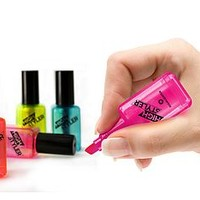'Nail Varnish' Highlighters