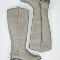 Radiant Rider Boots in Beige