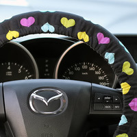 Steering Wheel Cover Bow Wheel Car Accessories Lilly Heated For Girls Interior Aztec Monogram Tribal Camo Cheetah Sterling Chevron Hearts