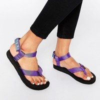 Teva Original Azura Purple Flat Sandals
