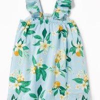 Ruffle-Strap Floral-Print Dress for Baby |old-navy
