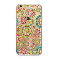 Fashion flowers iphone 5 5s SE 6 6s 6 plus 6s plus case cover + Nice gift box 072701