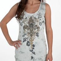 Miss Me Fleur Graphic Tank Top